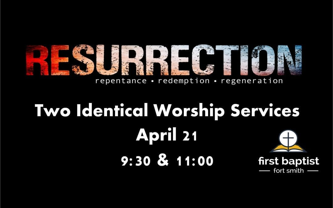 Easter Services 9:30 and 11:00