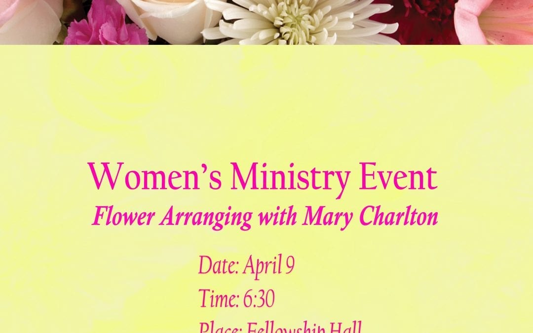 Women's Ministry Event