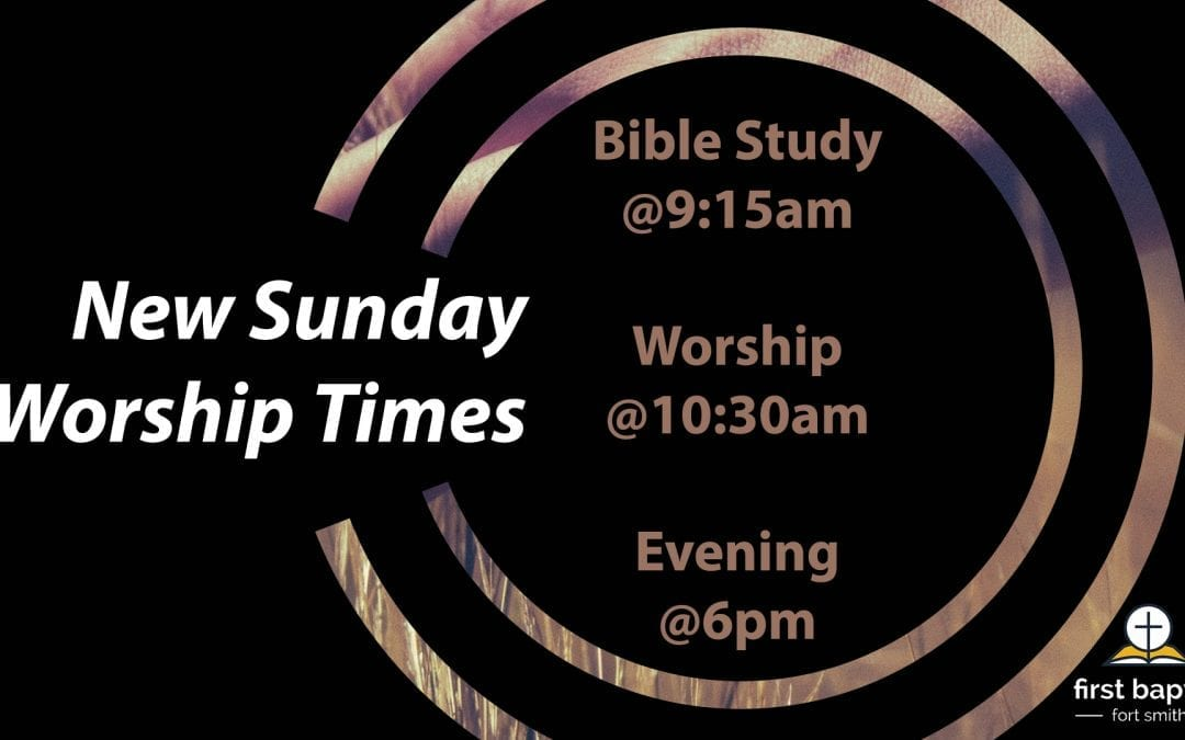 PLEASE NOTE: NOVEMBER WORSHIP TIMES